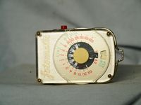 Fotomatic Vintage Camera Light Meter - Nice-